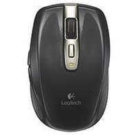 Logitech Anywhere Mouse MX Wireless - for PC & Mac with Receiver & Case