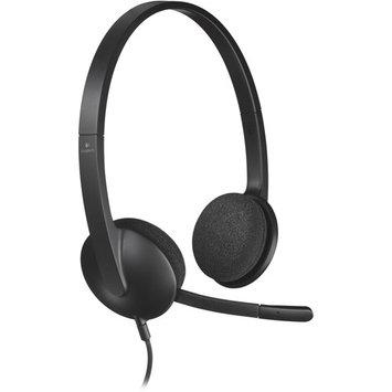 Logitech 981-000507 H340 USB Headset 6ft Cable