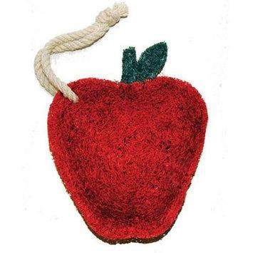 Loofah-Art Red Apple 9901 Natural Loofah Scrubber, 1-Item