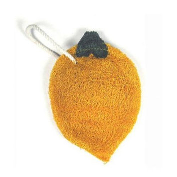 Loofah-Art Lemon Natural Loofah Scrubber, 1-Item