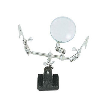 Excel Hobby Blade Corp Excel Double Clip Extra Hands With Magnifier