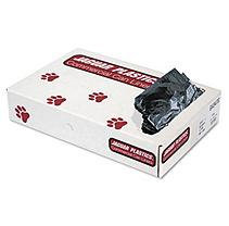 Jaguar Plastics 56-Gallon Commercial Can Liners, 1.3mil, Gray