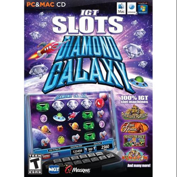 Masque IGT Slots: Diamond Galaxy (PC & MAC Games)