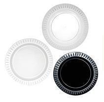Elegance Plastic Dessert Plates