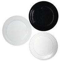 Deluxe Plastic Salad Plates - 7.5