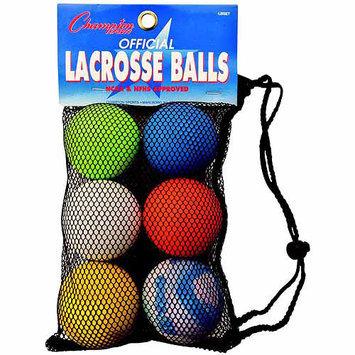 Stx Stx Lacrosse Balls - Set Of 6 - Assorted Colors