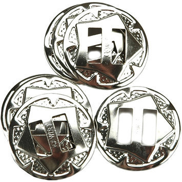 Leather Factory Silver Finish Concho 1