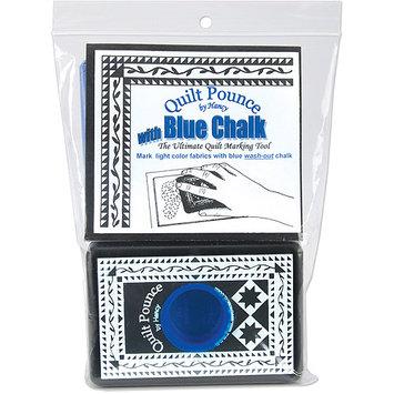 Hancy Quilt Pounce Pad with Blue Chalk Powder - 4Oz
