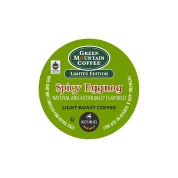 Fair Trade Certified Spicy Egg Nog Flavored Coffee K-Cups
