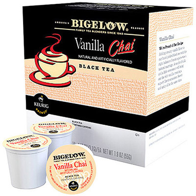 Keurig KCup Portion Pack Bigelow Vanilla Chai Black Tea 18pk.