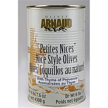 Arnaud 37218 6.06 Lb. DW Nicoise Olives Pack of 3
