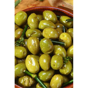 Arnaud 19520 6.06 Lb. DW Green Olives Fennel Pack of 3