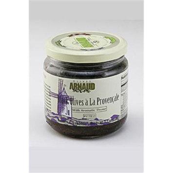 Arnaud 26591 Black Olives Pitted 7.7 oz. Jar Pack of 6