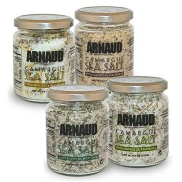 Arnaud 23325 Camargue Sea Salt - Herb De Provence 8.8 oz. Pack of 6