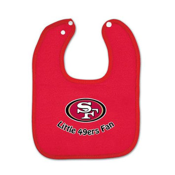 Mcarthur Sports McArthur San Francisco 49ers Scarlet Cotton Baby Bib