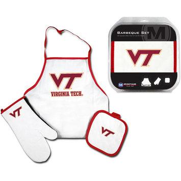 Mcarthur Towel Virginia Tech Hokies 3 Piece BBQ Tailgate Set