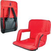 Picnic Time Los Angeles Angels of Anaheim Ventura Portable Seat Red
