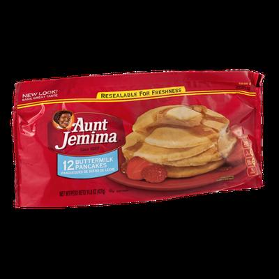 Aunt Jemima Frozen Breakfast Buttermilk Pancakes