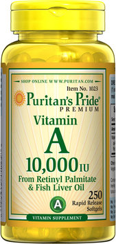 Puritan's Pride Vitamin A 10,000 IU-250 Softgels