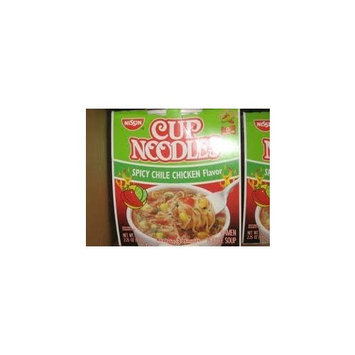 Cup-O-Noodle Spicy Chicken 2.5 oz. (12 Pots)