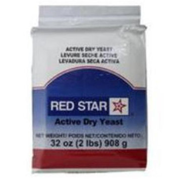 Red Star Baking Yeast Vacuum Packed 2 Pounds 32 ounces - 908 g