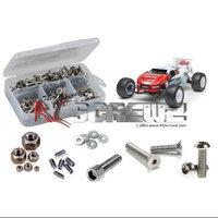 Associated T4.2 RTR/Factory Stainless Steel Screw Kit RCZC0052 RC Screwz