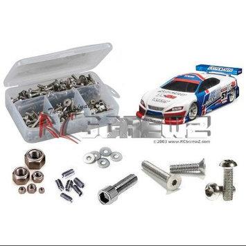Associated TC6.2 Factory Stainless Steel Screw Kit RCZC5058 RC Screwz