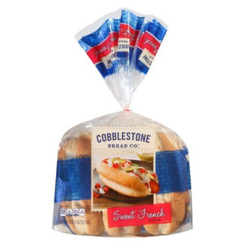 Flowers Foods Cobblestone Bread Co. Sweet French Rolls 18 oz 6 pk
