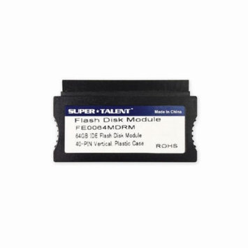 Supertalent Super Talent FE0064MDRM(SZ) 40-pin IDE Vertical 64GB IDE Flash Disk Module (MLC)