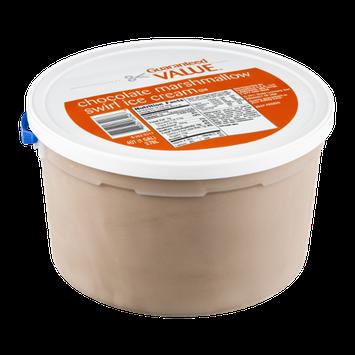 Guaranteed Value Ice Cream Chocolate Marshmallow Swirl