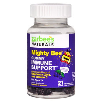 ZarBee's Naturals Mighty Bee Immune Support Gummy, Berry, 21 ea