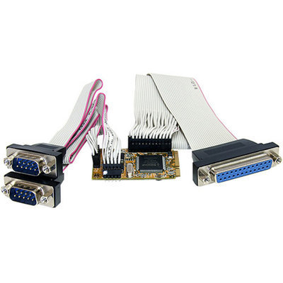 StarTech Startech 2S1P Serial Parallel Combo Mini PCI Express Card for Embedded Systems