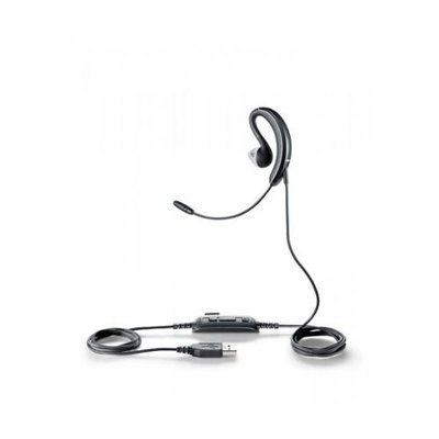 Jabra UC Voice 250 Headset Microphone MS USB Wired Single Behind-the-Ear Gel