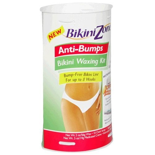 Bikini Zone Anti-Bumps Bikini Waxing Kit, 1 kit (Pack of 2)