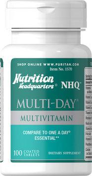 Nutrition Headquarters Multi-Day Multivitamin-100 Tablets