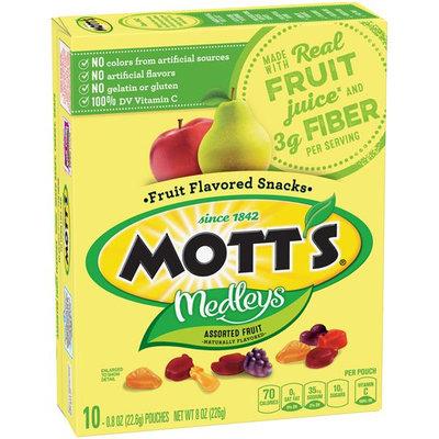 Mott's® Medleys Fruit Flavored Snacks - Assorted Fruit