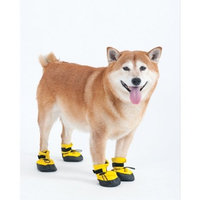 Ethical Pet Fashion Pet Lookin Good Arctic Winter-Proof Boots for Dogs, Small, Yellow