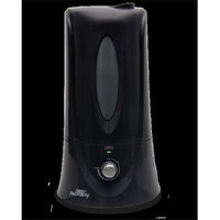 Air Innovations Humidifiers 1.1 gal. Clean Mist Ultrasonic Humidifier - Black Blacks HUMID12-BLK