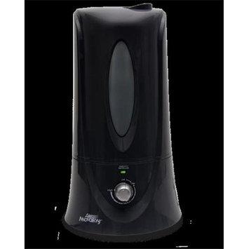 Air Innovations Humidifiers 1.1 gal. Clean Mist Ultrasonic Humidifier - Black Blacks HUMID12-BLK