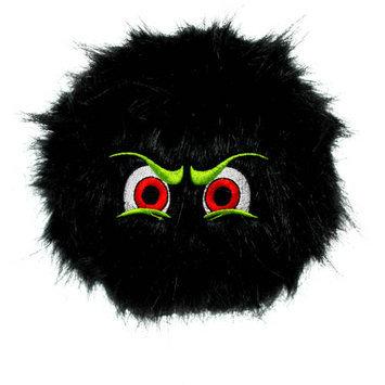 Tuffy's Pet Products Large Black iBalls Dog Toy