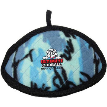 Tuffy's Dog Toys Tuffy's Pet Products Bowmerang Dog Toy in Camouflage Blue