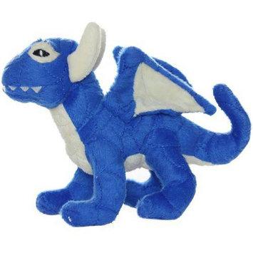 Tuffy Vip Products MTJR-Drag-Blue Mighty Toy Dragon - Jr. Blue