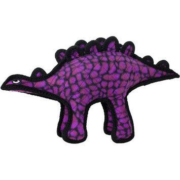 Tuffy Stegosaurus Dog Toy (Purple)