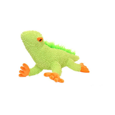 Mighty Lizard Microfiber Dog Toy (Green)