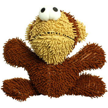 Mighty Monkey Ball Microfiber Dog Toy (Brown)