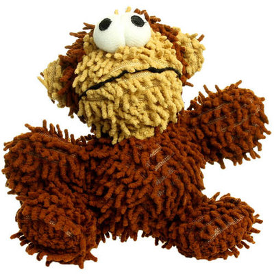Mighty Jr Monkey Ball Microfiber Dog Toy (Brown)