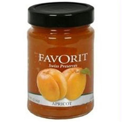 Favorit B76569 Favorit Preserves, Apricot -6x12. 3oz