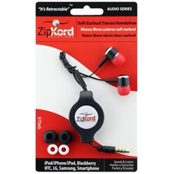 Ekg/zipkord Ekg-Zipkord 970eb ZipKord Retractable Stereo Mobile Phone Headset Silver