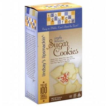 123 Gluten Free Lindsay's Lipsmackin' Sugar Cookies - 21.6 oz