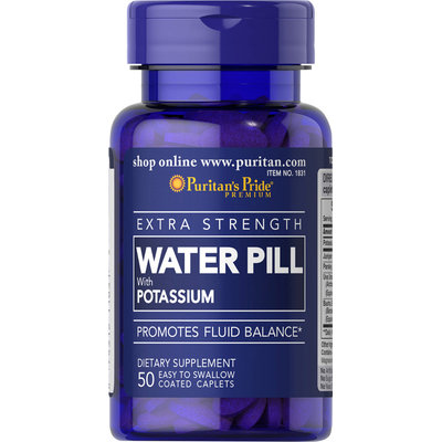 Puritan's Pride 2 Units of Extra Strength Water Pill-50-Tablets